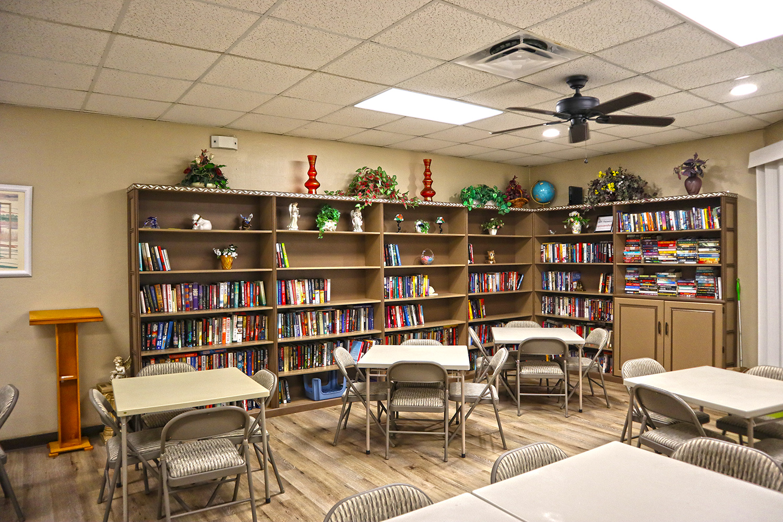 Cypress Bend RV Resort Amenities Library