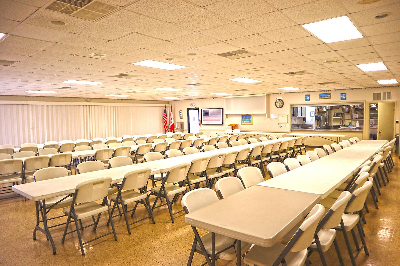 Cypress Bend RV Resort Amenities Dining Area